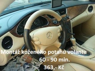Montáž Koženého potahu volantu