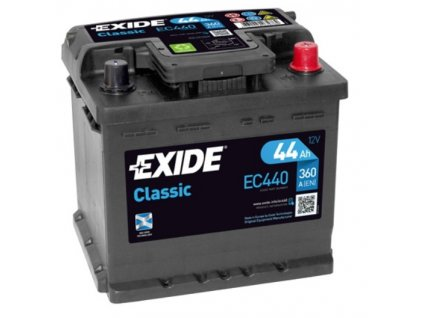 Autobaterie EXIDE Classic 12V 44Ah 360A, EC440